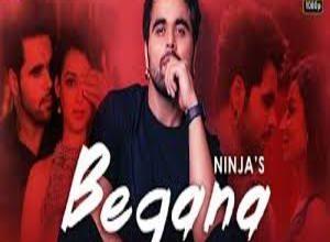 Photo of Begana Song Lyrics –   Ninja