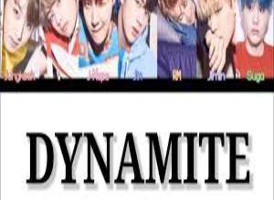 Photo of Dynamite Lyrics- BTS