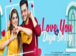 Photo of Love You Te Duja Sorry Lyrics –  Ayush Talniya