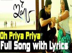 Photo of O priya priya Song Lyrics –  Ishq Movie