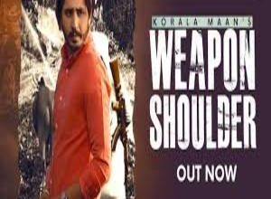 Photo of WEAPON SHOULDER LYRICS Lyrics – KORALA MAAN