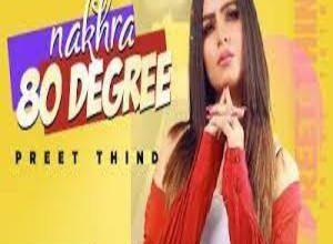 Photo of NAKHRA 80 DEGREE Lyrics –  PREET THIND