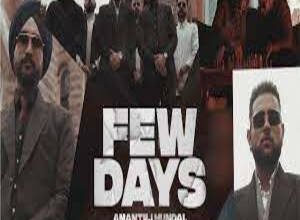 Photo of FEW DAYS Lyrics –   KARAN AUJLA