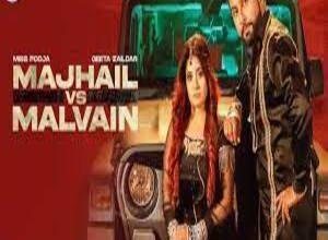 Photo of MAJHAIL VS MALVAIN Lyrics – Miss Pooja . Geeta Zaildar