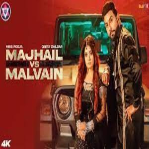 MAJHAIL VS MALVAIN Lyrics - Miss Pooja . Geeta Zaildar