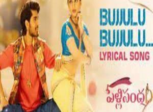 Photo of Bujjulu Bujjulu Lyrics – Pelli SandaD Movie