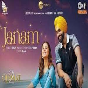 Janam Lyrics - Qismat 2 , Romy